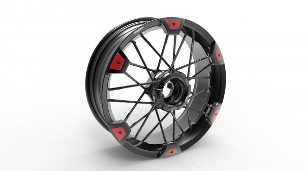 Jonich SX Wheels - Ducati Streetfighter